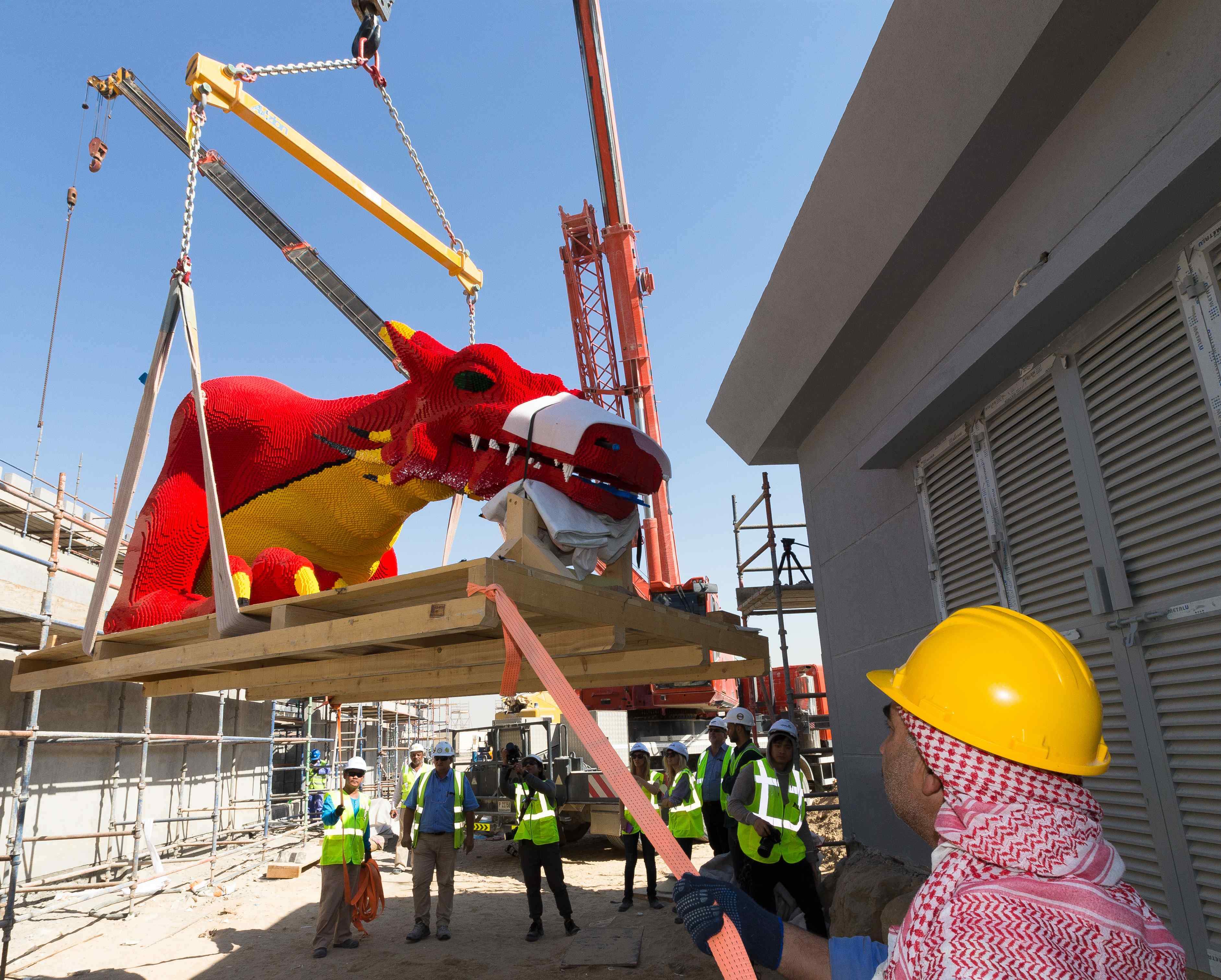 The-Red-Dragon-moves-into-its-new-home-at-LEGOLAND®-Dubai